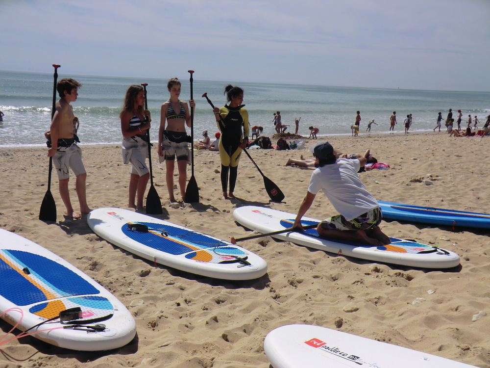 Stand Up Paddle Ile deRé mai 2013 avec Papaï paddle