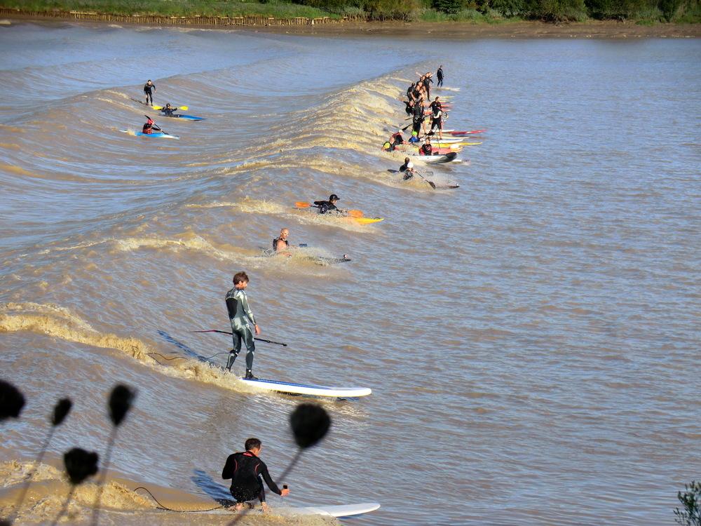 Mascaret papaï paddle avec red paddle 2