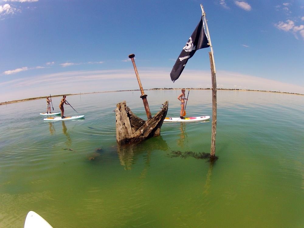 Randonnée en Stand Up Paddle au départ de La Couarde