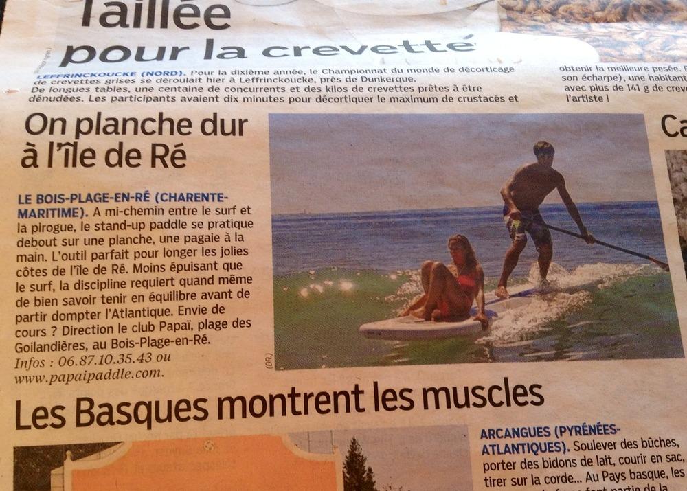 Article du 4 août 2014 dans Le Parisien