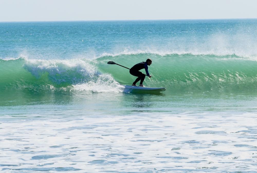 Des vagues aux Gollandières et la plus belle pour Antoine ;)