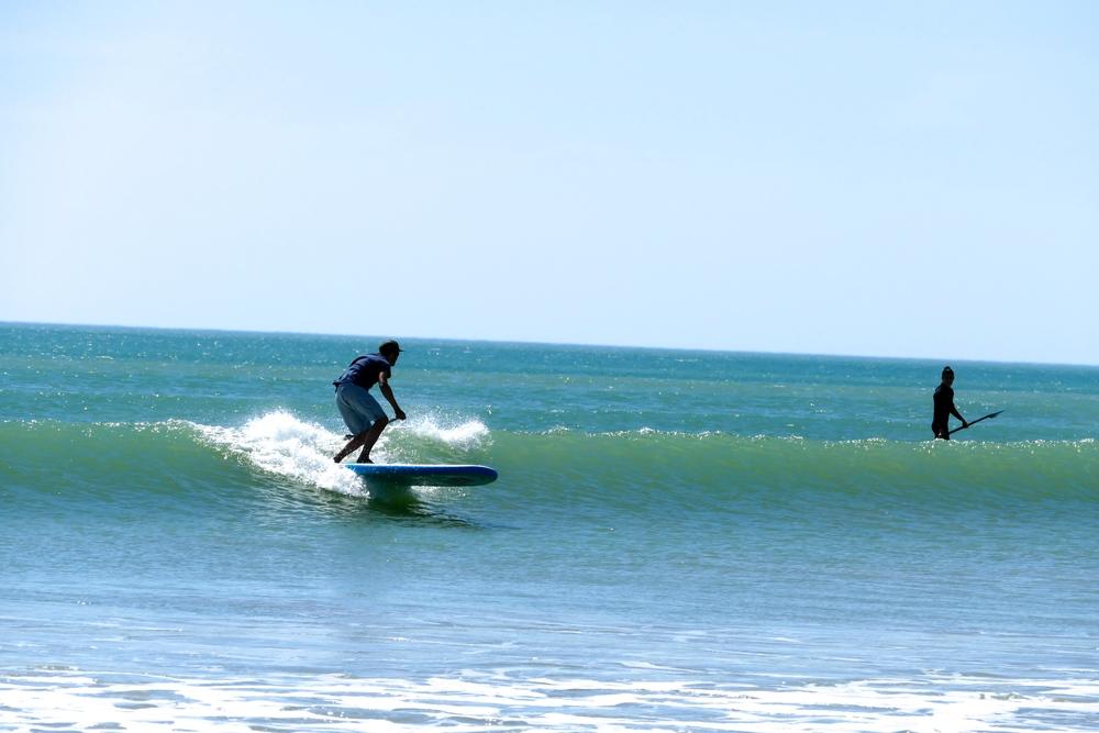 SUP Surfing avec la nouvelle 9'8 ride de chez Red Paddle