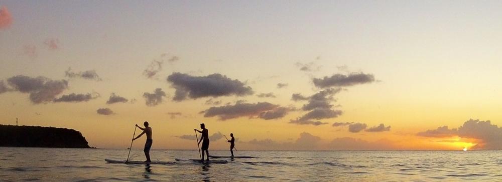 SORTIE SUNSET - Randonnée en Stand Up Paddle au coucher du soleil