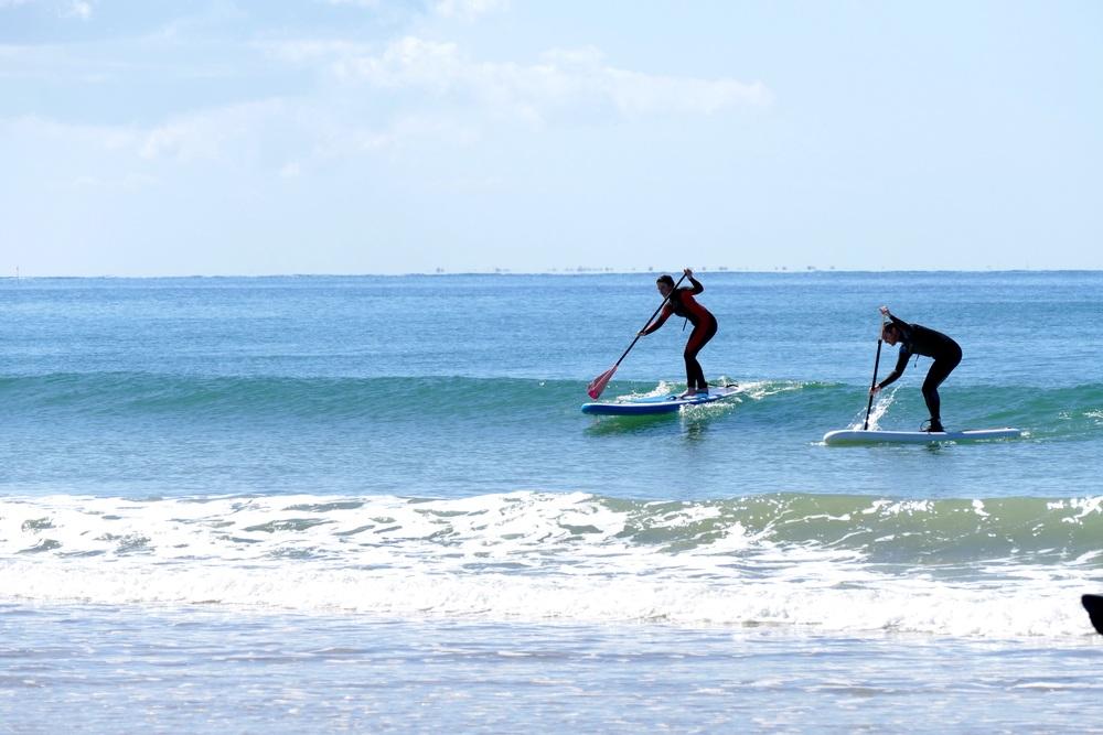 SUP Surfing aux Gollandières