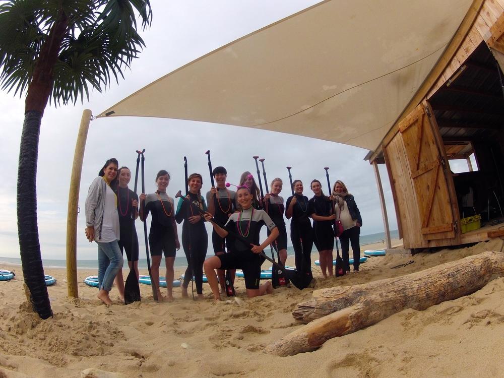 Groupe stand up paddle ile de ré EVJF