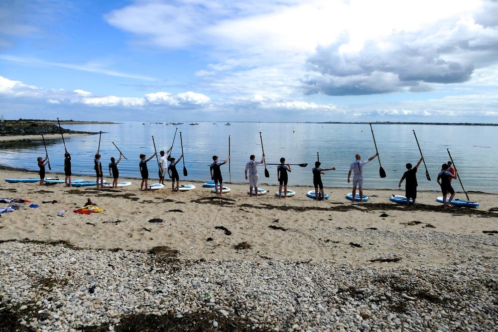 Groupe paddle Iledere