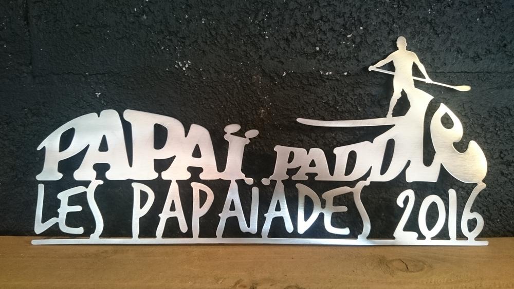 Trophée des Papaïades 2016 - création de l'Atelier Récréa