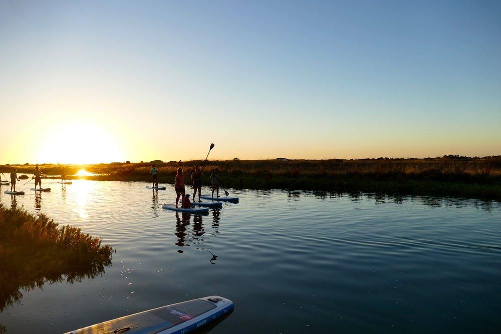 SUP Rando Sunset dans les marais avec Papaï Paddle