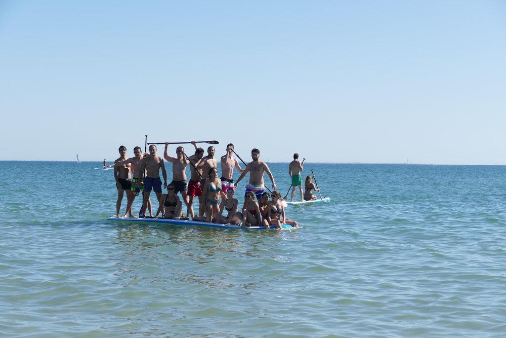 SUP géant - Paddle XL redpaddleco - Ile de ré