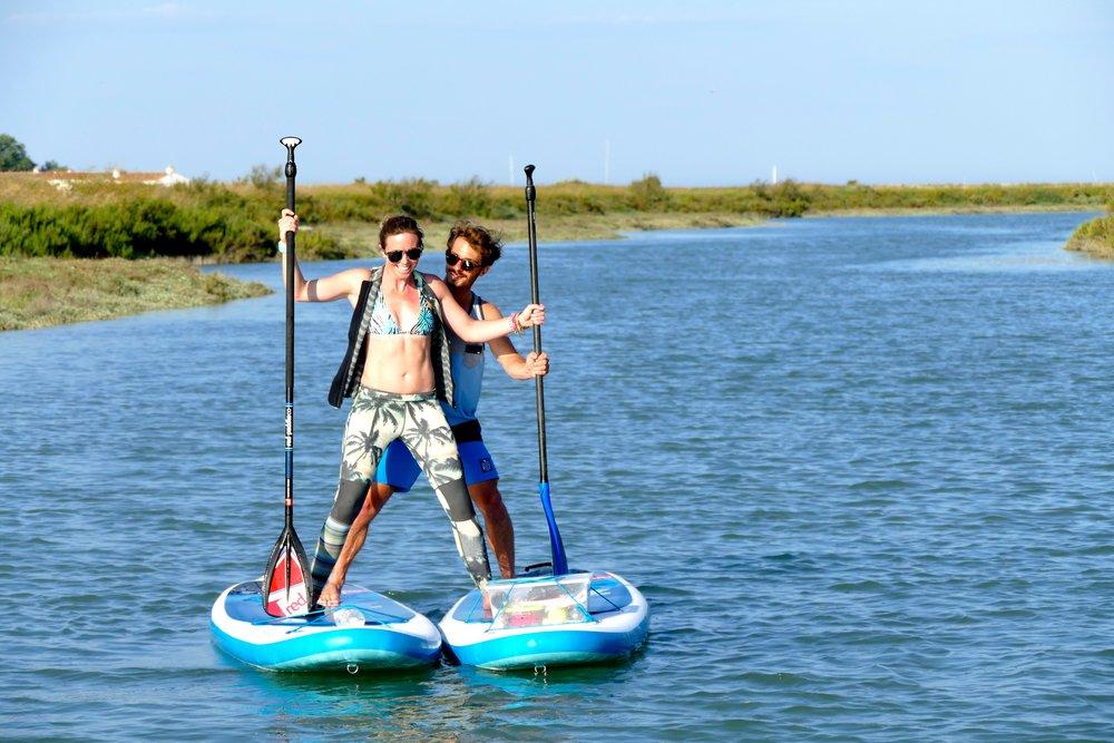 SUP Rando dans les marais de l'Ile de ré avec Red Paddle Co