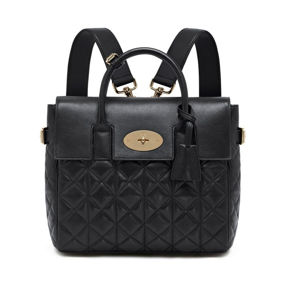 Cara Delevingne Bag Quilted Nappa in Black WAS £1,295 NOW £906
