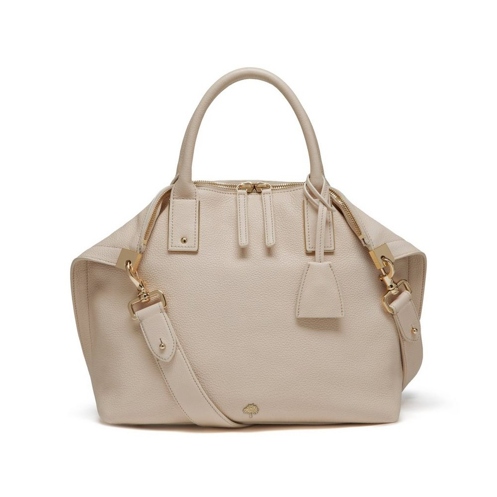 Small Alice Zipped Tote in Buttercream WAS £795 NOW £636