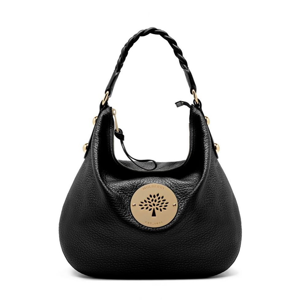 Medium Daria Hobo in Black WAS £795 NOW £556