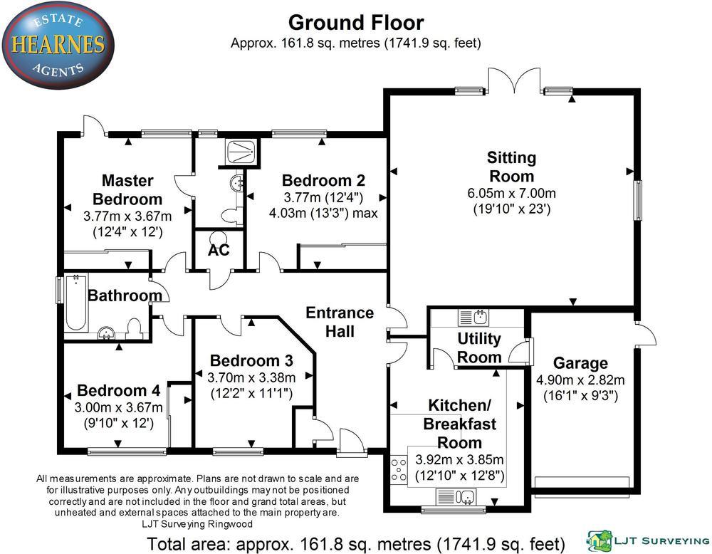 Unit 2  62 Oaks Drive BH24 - All Floors.JPG