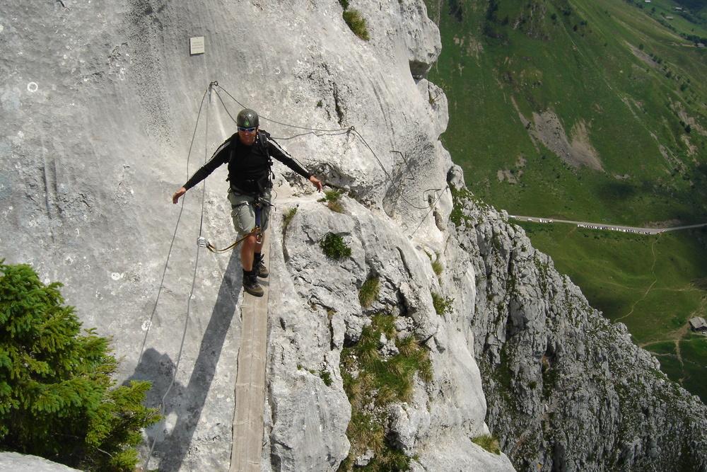 Klettersteig Uk : Austria klettersteig scrambles in the austrian alps u imp adventures