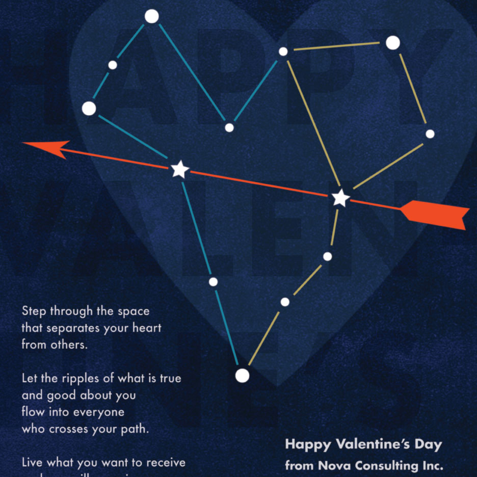 Nova Consulting Inc. - Valentines Day Card
