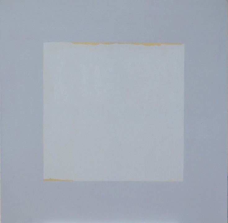 Cuadrado Imperfecto 7, oleo sobre lienzo, 80x80cms