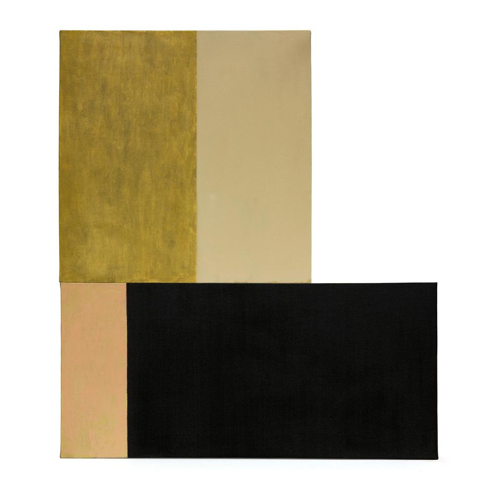 Composicion 3, oleo sobre lienzo, 85 x 75 cms