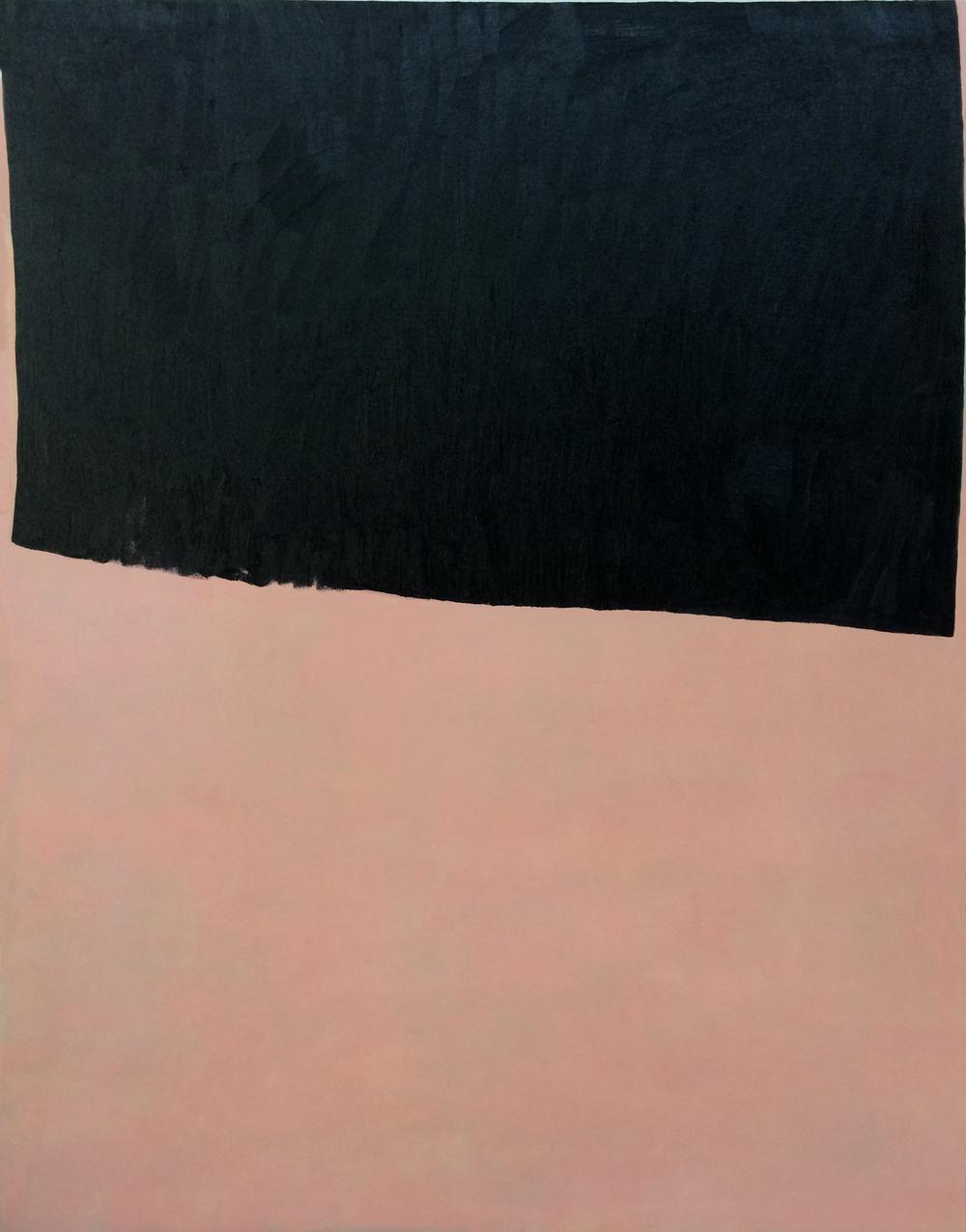 Gesture 1, 120 x 90 cms, óleo sobre lienzo