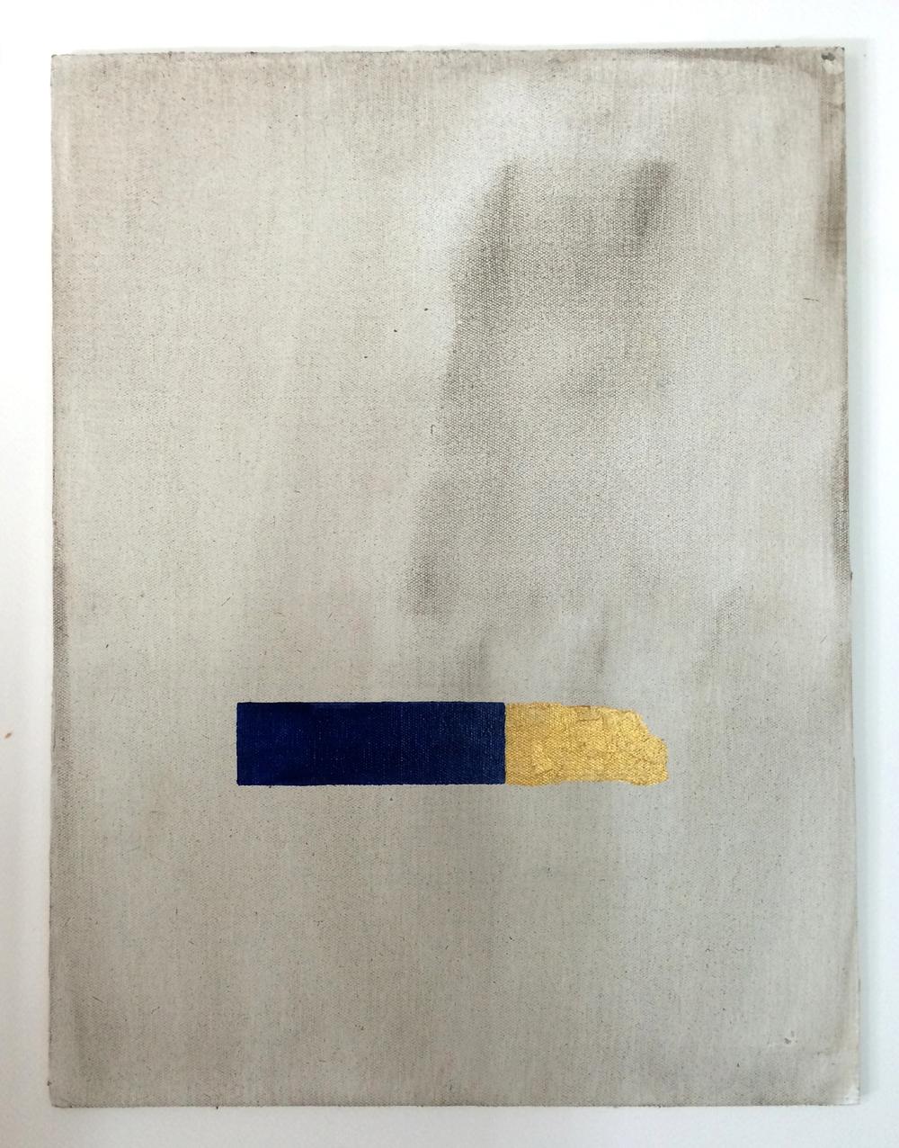 Unconscious 2, 40 x 30 cms, óleo sobre lienzo