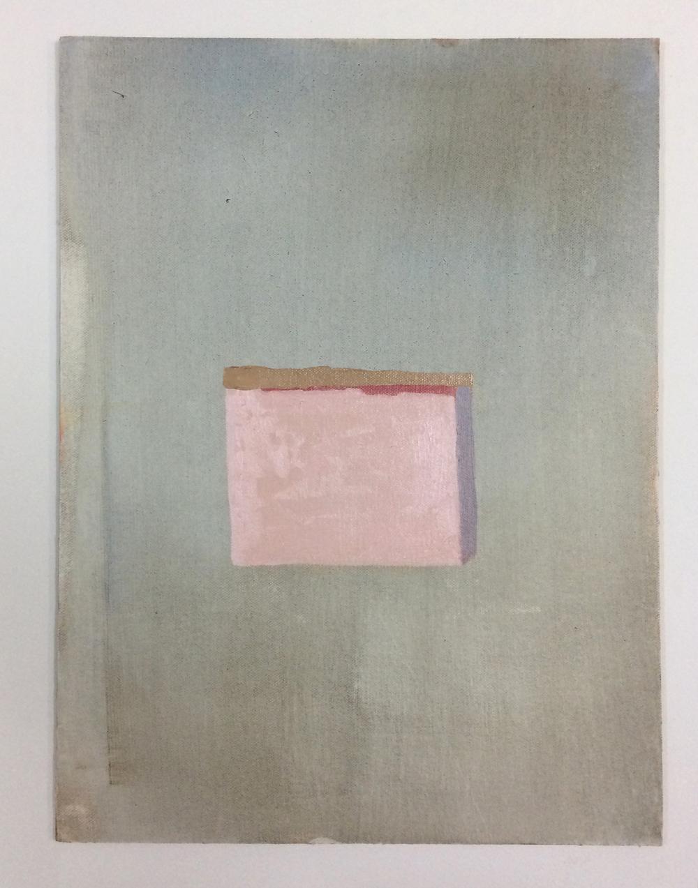 Unconscious 3, 40 x 30 cms, óleo sobre lienzo