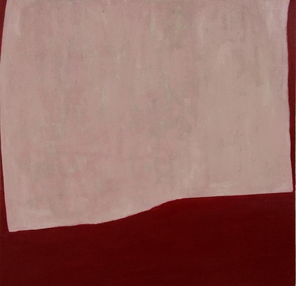 Gesture 2, 50 x 50 cms, óleo sobre lienzo