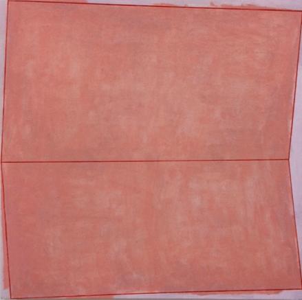 Irregular 1, 50 x 50 cms, óleo sobre lienzo
