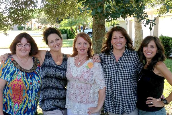 Sandi, Roben-Marie, Barbara, Lorraine, Rae