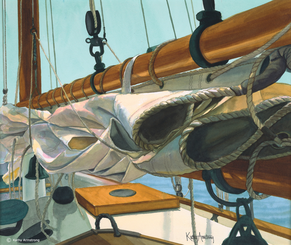 """Sails at Rest"""