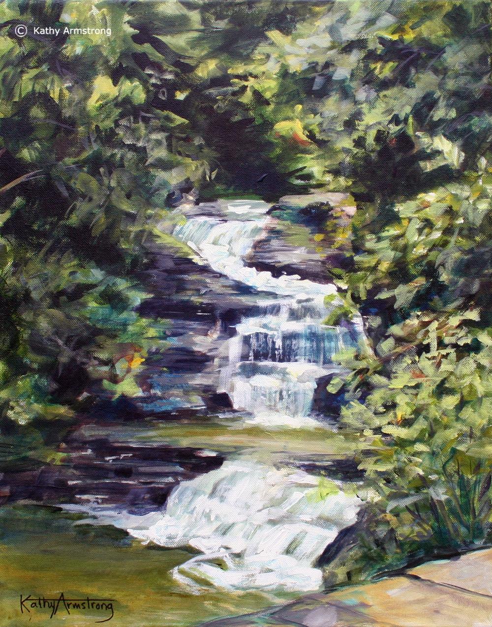 """Treman Mill Falls"""
