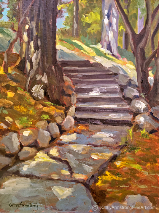 """Woodland Path"""