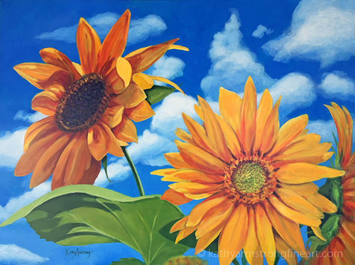 """Sunflower Sky"""