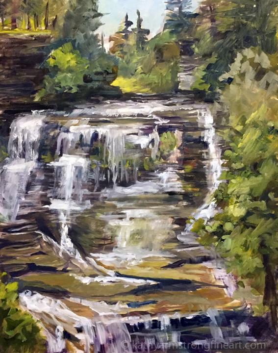 """""""Upper Frontenac Falls"""""""