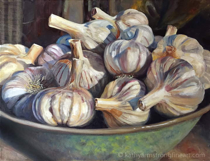 """Garlic Harvest"""