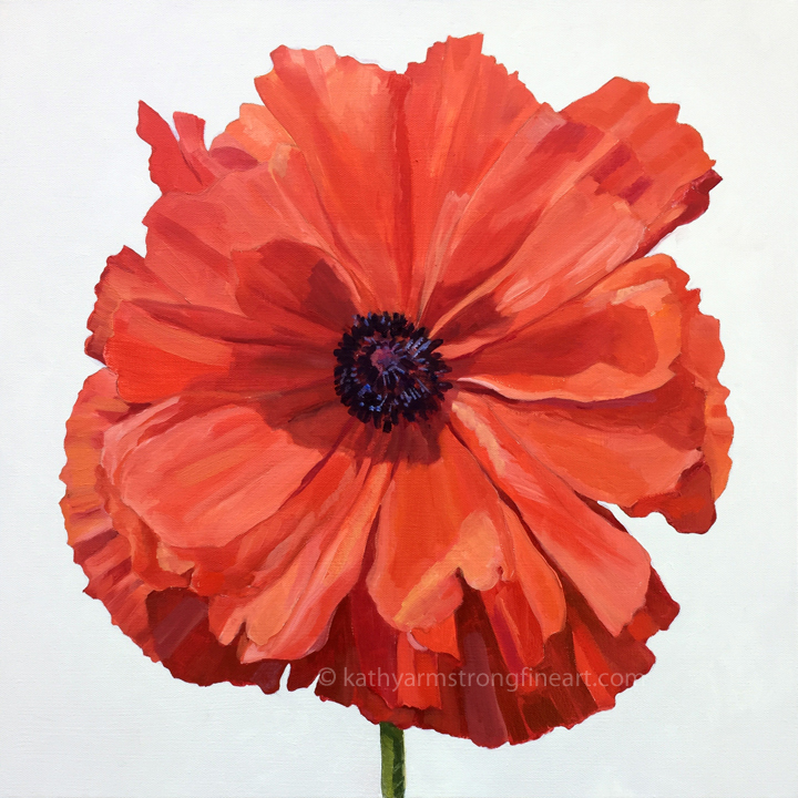 """Poppy Portrait"""
