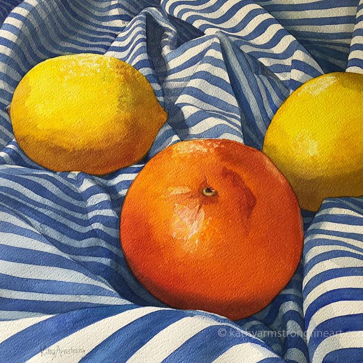 """Orange with Sidekicks"""