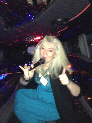 Come join Zelda in the 24 seat Karaoke Hummer.