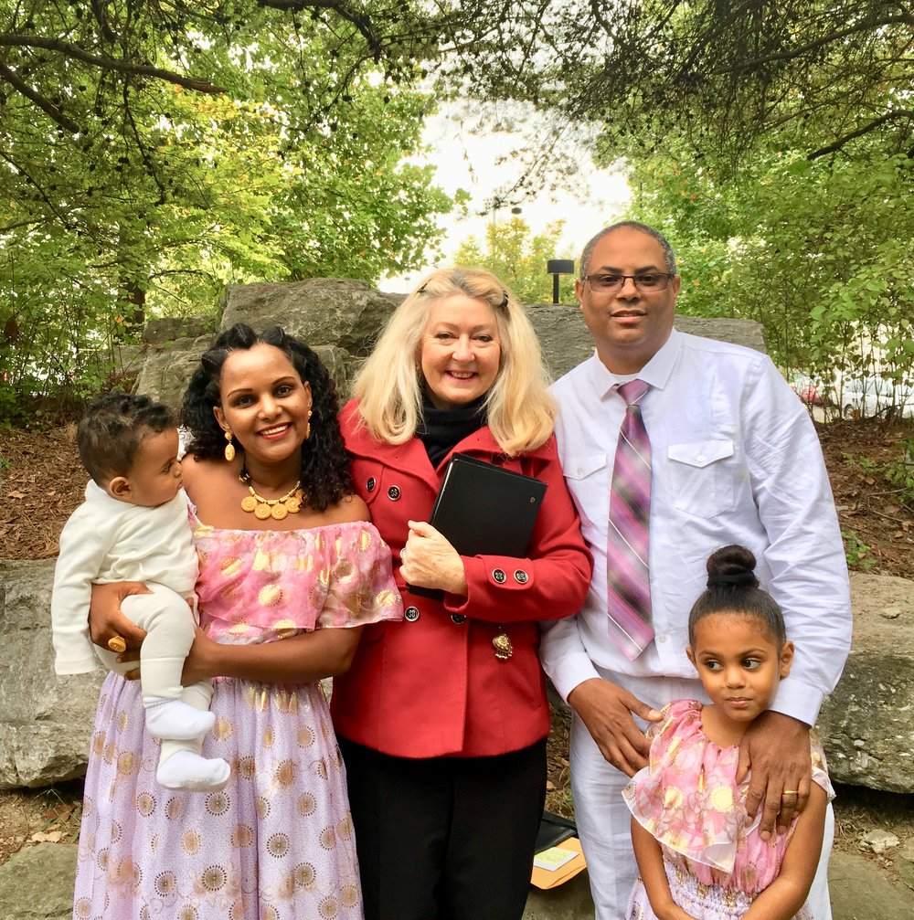ASEMERET AND TELEALE MARRIED IN BICENTENNIAL PARK NASHVILLE TN 2018