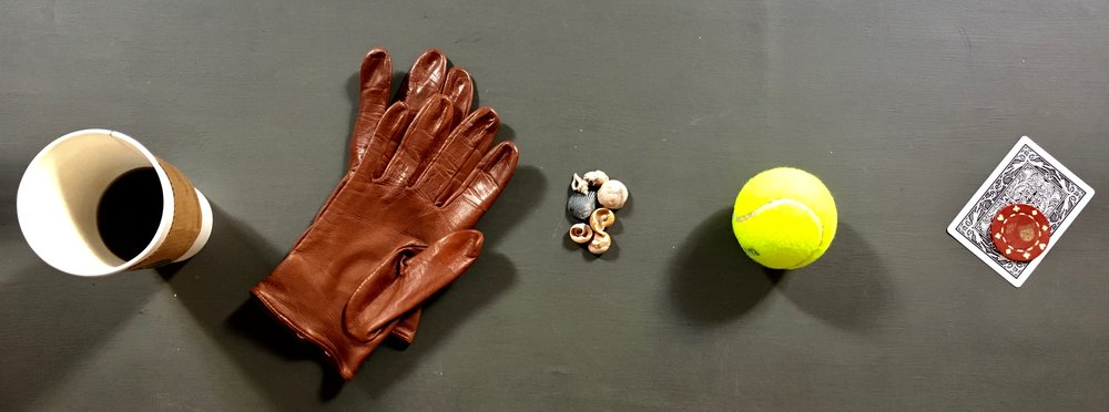 Can you represent your week with an object from each day?