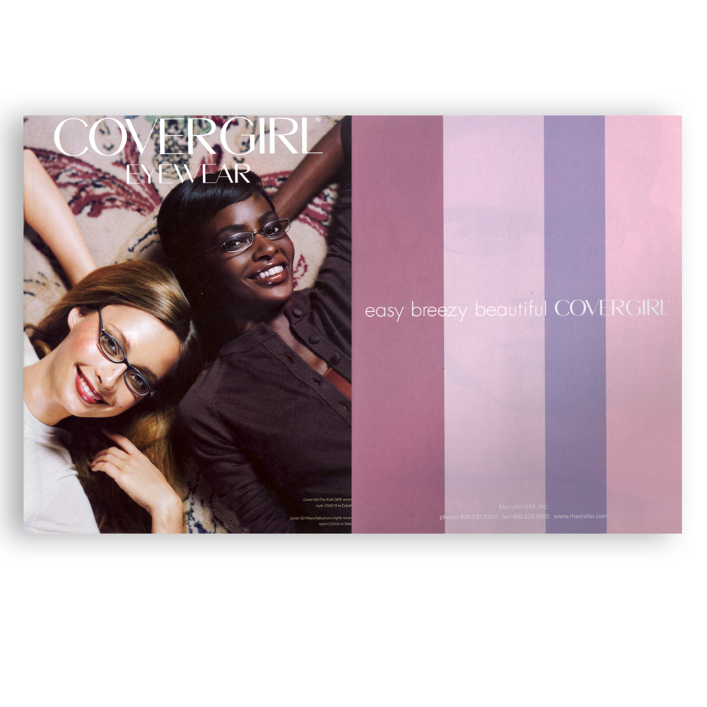 CoverGirl Eyewear Trade Advertisement