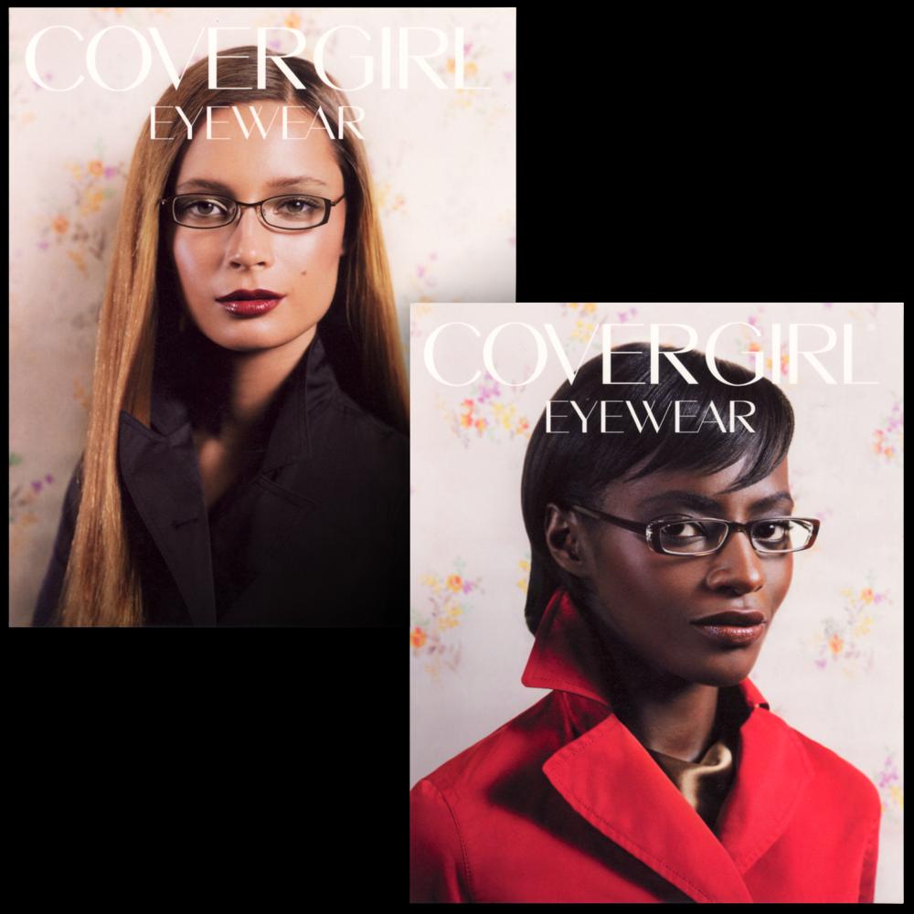 CoverGirl Eyewear Trade Advertisement