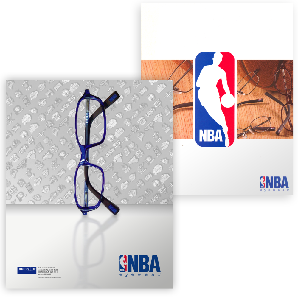 NBA Eyewear Brand Marketing