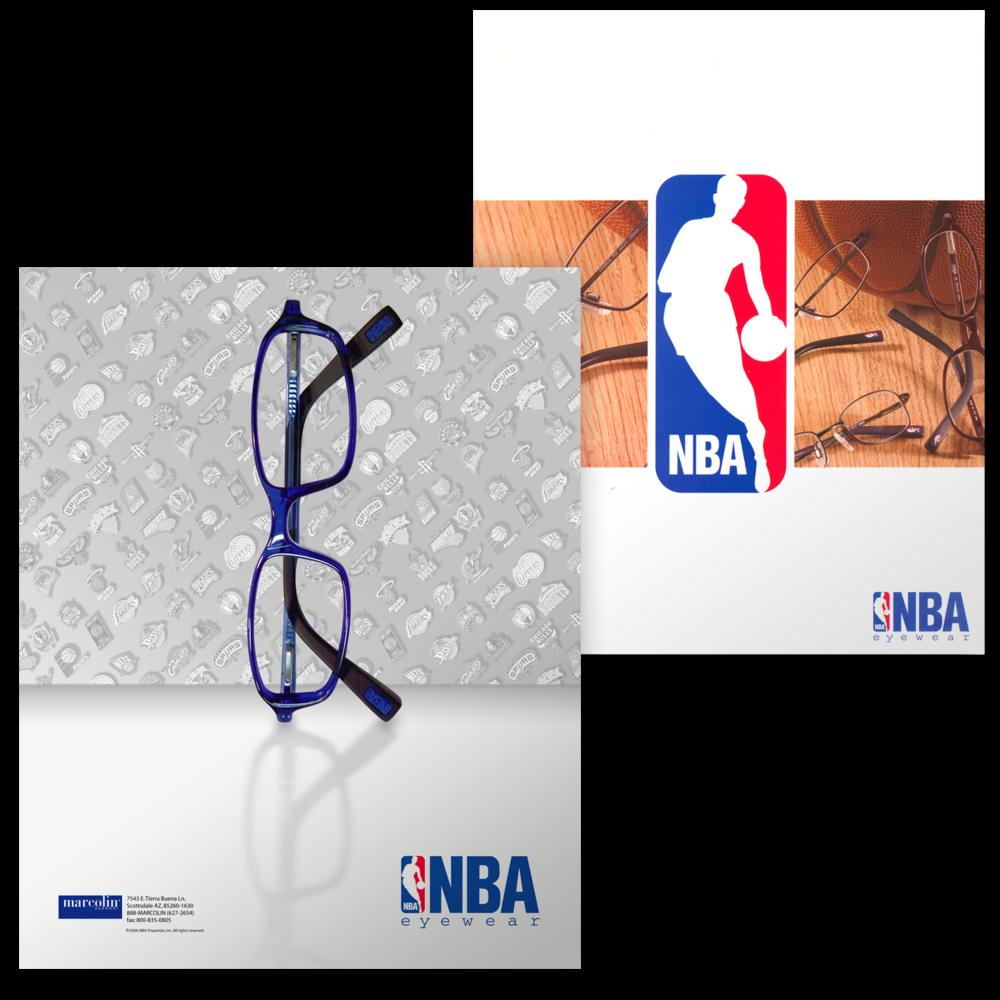 NBA Eyewear Brand Marketing