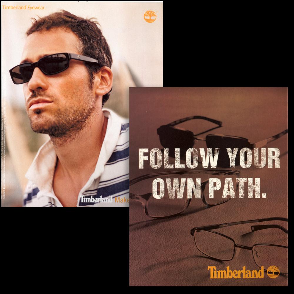 Timberland Eyewear Trade Advertisement
