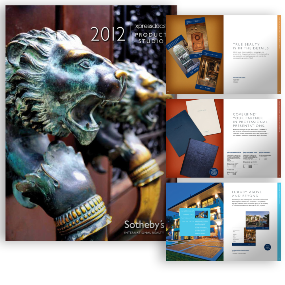 Sotheby's International Realty Marketing Catalog
