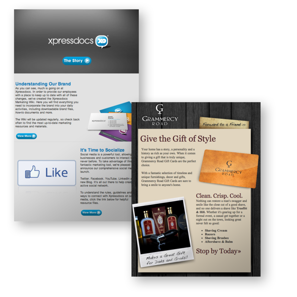 HTML Email Marketing Campaigns