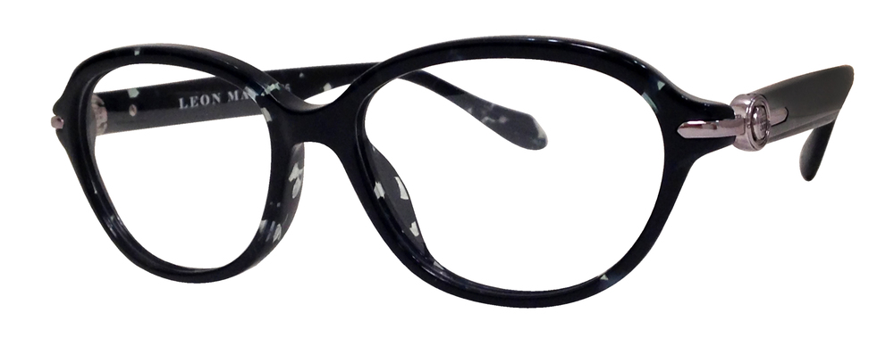 the leon max 4025 is a stylish full rim zyl frame in a modified round shape the frame is offered in three noticeable and fashionable colors - Zyl Frames