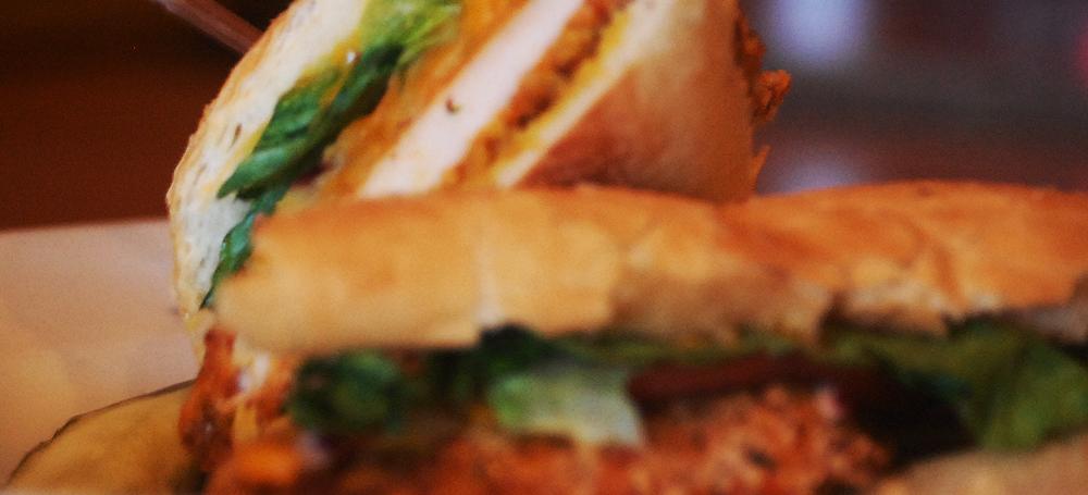 Honey Chicken Sandwich