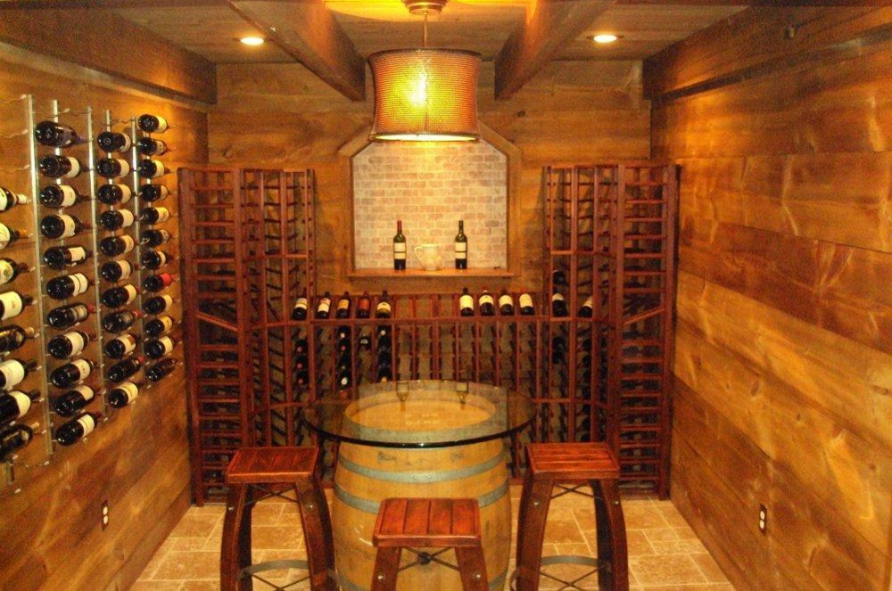 Barn Style Wine Kit, Install it yourself over the weekend! Barn Style Wine Cellar Kits starting from $4,000.00!