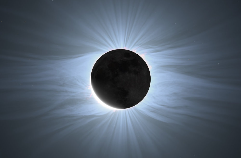 The 2017 total eclipse as seen in Sky Guide